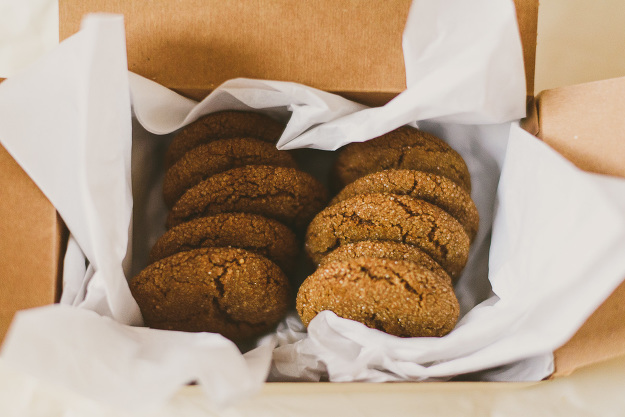 Ginger Molasses Cookie -12