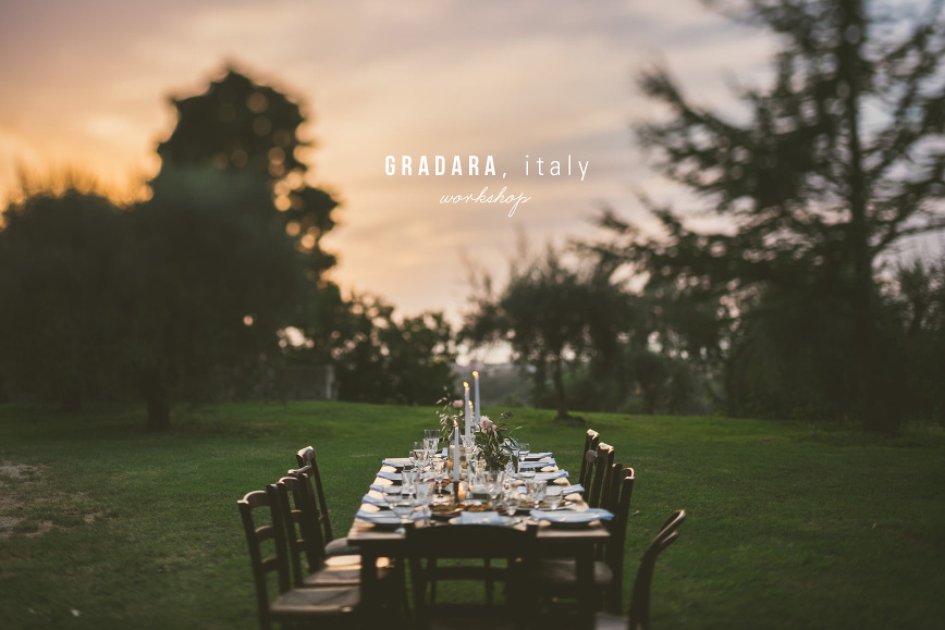 Gradara Italy Food Photography + Styling Workshop | bettysliu.com