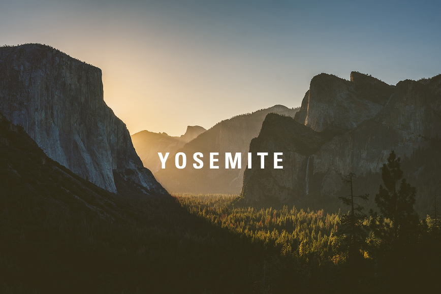 Yosemite National Park Tunnel View Sunrise | bettysliu.com