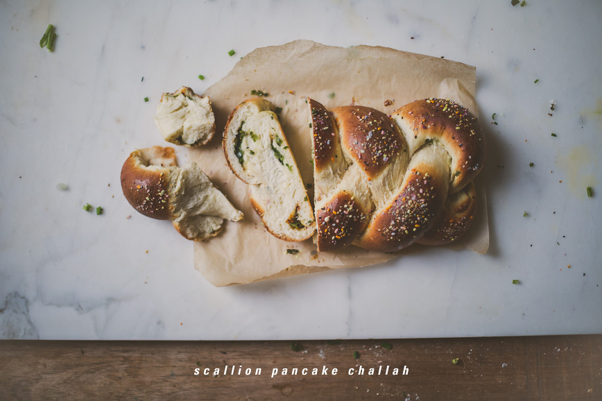 scallion pancake challah | bettysliu.com