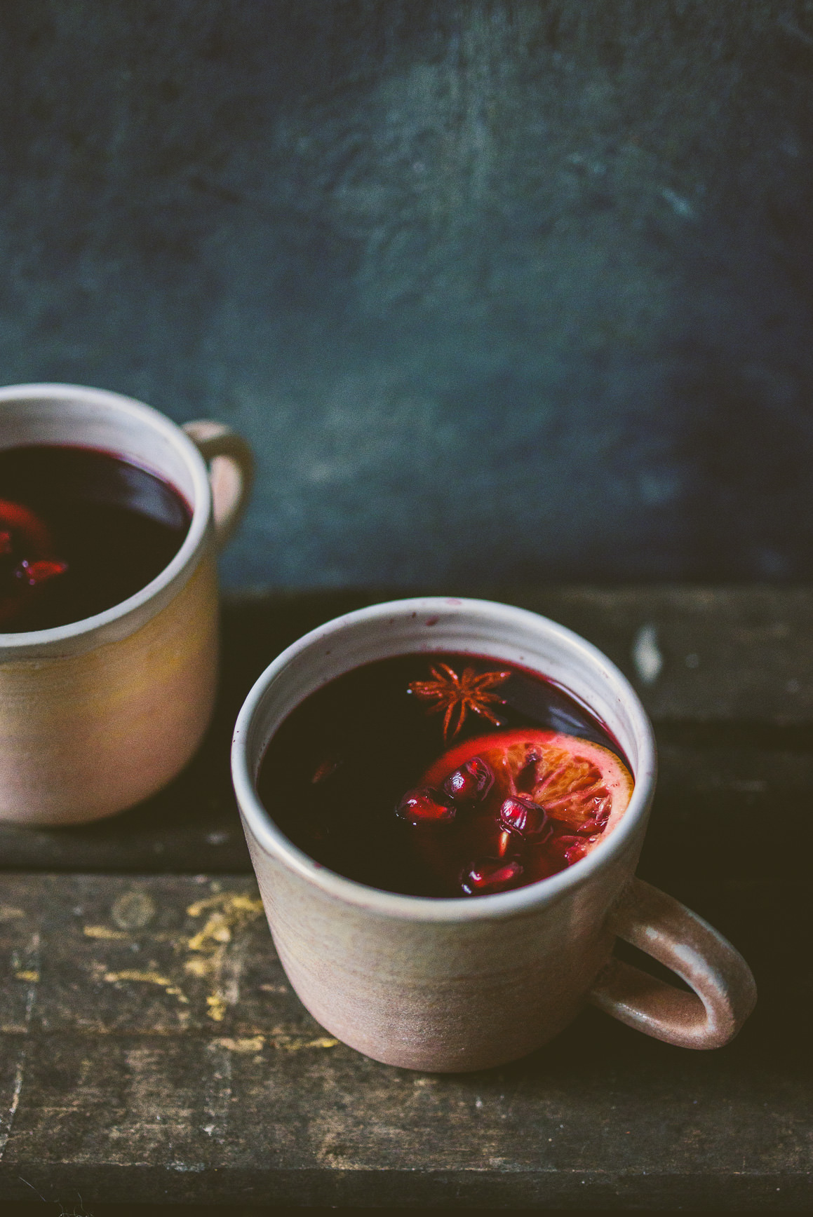 Five Spice Pomegranate Mulled Wine » Betty L