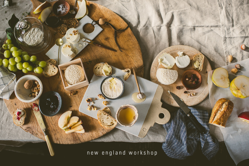 New England Food Photography Styling Workshop Recap