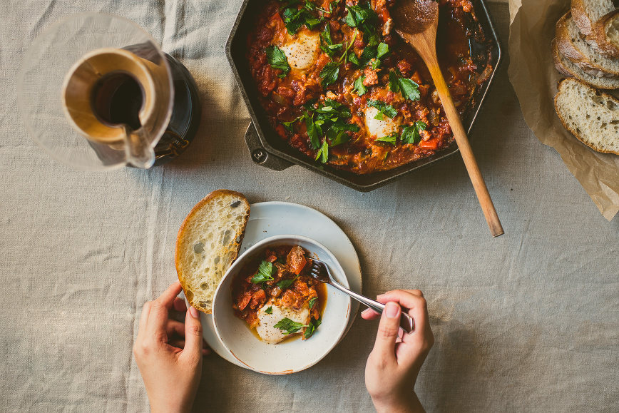 Spicy Sichuan Mouth-numbing Shakshuka