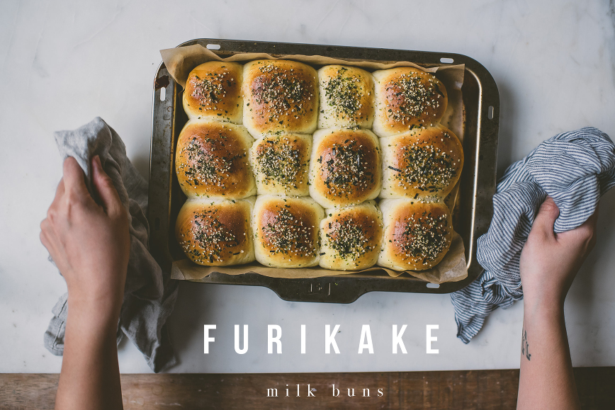 Furikake Milk Bread Buns | bettysliu.com