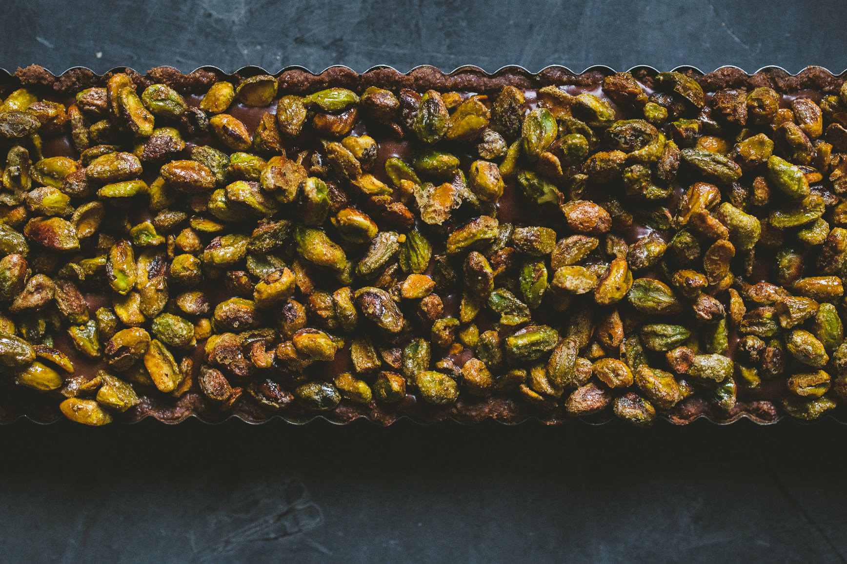 Pistachio Chocolate Mousse Tart + Giveaway! » Betty L